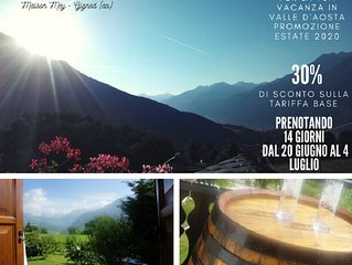 Maison Mey - natura e relax a pochi chilometri da Aosta