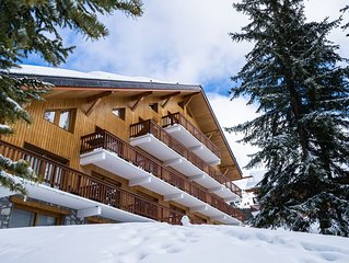 Appt Meribel Altiport au Pied des pistes