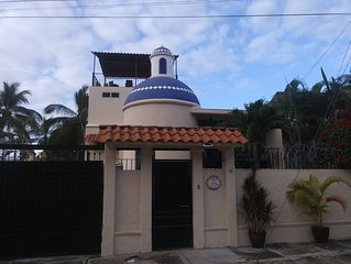 House with Ocean View/Pool/3 blocks to beach/Casita studio/palapa/private