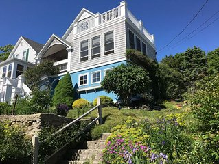 Peaks Island Maine Seaside Cottage: hot tub/roof decks/4 season