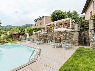 Schöne Wohnung in einem kleinen Weiler, Swimming Pool, Whirlpool und Sauna