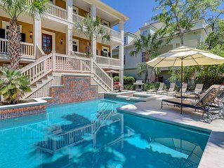 Spectacular 2nd row home with pool and spa, super close to beach!