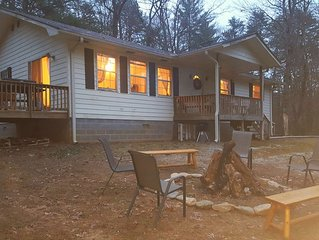 Pet Friendly Cabins and Camping Nestled on a Private Mountain Ridge in Helen, GA