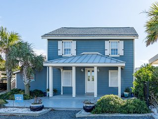 Rare Find!!! 2-Bedroom Historic Oceanfront Beach Cottage with Pool on Caswell Be