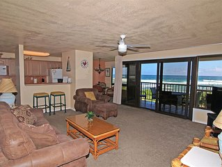 Direct Ocean Front Condo - Any closer and you would be IN the ocean!