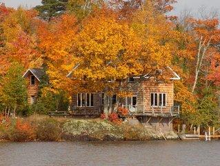Copper Harbor, Lodge on Lake Medora Waters Edge