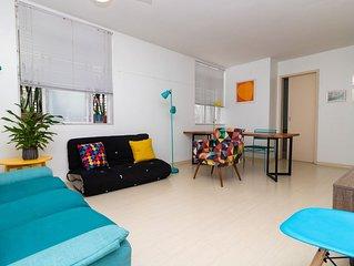 Apartamento charmoso 2 quartos no Leblon