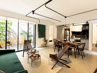 Cozy & Hip Roma Apt with 2 Private Terraces!