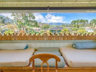 5bdrm Ohana House: Steps away from the Beach~Hanalei Town [5bd Mahi]