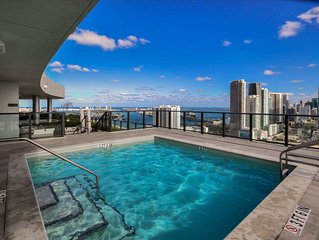 Enjoy Exquisite Views from This Luxurious Miami Condo