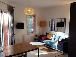 'A l'orée d'Angers'  résidence T1 bis  avec terrasse