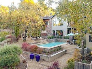 Sebastopol Luxury Home With Views, Pool & Hot tub