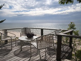 Secluded Lake Michigan Beachfront Home