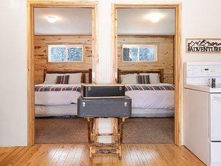Convienent and Affordable West Glacier Lodging- Beargrass Lodging #1