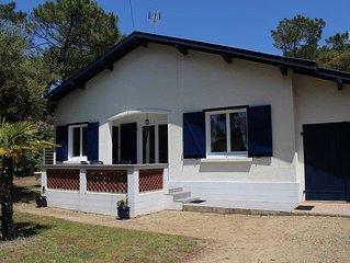 SEIGNOSSE-Ocean, villa mitoyenne pour 4 personnes