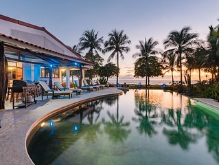 Amazing Beachfront Home with pool and good vibes