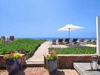 Malibu Beachfront Villa. Villa Trancoso.
