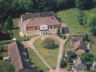 Gutshaus Borkow, 3-Zimmerwohnung Plau am See bis 5 Personen