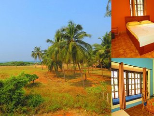 26) Sea Facing Ground Floor 1 Bedroom Apartment - Candolim