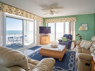 Beautiful Ocean Front 3 Bdrm On The Non-driving Section Of New Smyrna Beach