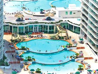 CARIBE• ALL NEW DECOR• WATERPARK ONSITE• BAY/GULF/POOL VIEWS