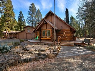 Sisters Dream Inn - amazing pet friendly cabin located on 2 beautiful acres in a