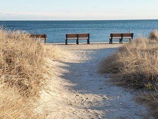 Best Family Retreat! Lg Yard, Quiet Street, Steps to Beach & Restaurant