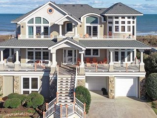 #PI123 Belle Rive is luxury oceanfront vacationing at its finest in Corolla