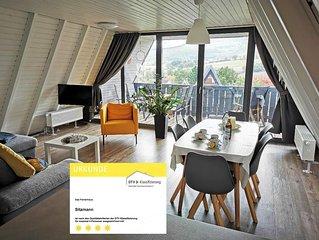 Neu Luxus Ferienhaus in Ruhiger Lage Erholung  Relexen Natur Einzigartig Rhon