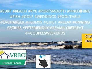 Walk to��️��️!�Pool Table, Quiet Beachouse Getaway