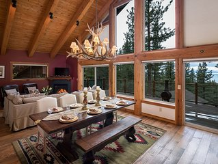 NEW LISTING WOW!  A 5 Bdrm/4 bath Haven in North Lake Tahoe!
