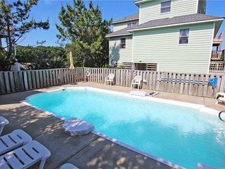 #4010: 4BR w/Ocean Views, Large Pool, Hot Tub, Volleyball and much more....