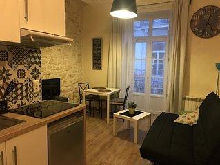 F2 Tout confort 3 couchages Centre ville Montpellier