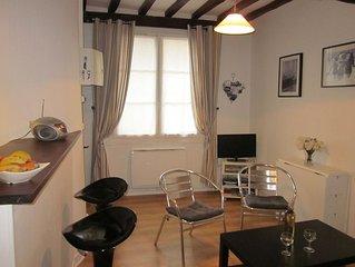 DIEPPE : Appartement charmant et confortable en centre ville pour 2 à 3 pers.