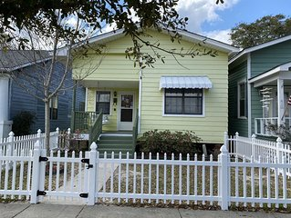 #Adorable bungalow steps to downtown and the beach!