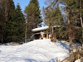 Country Log Cabin for 4 people in the Olympic region of Seefeld