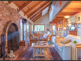 Gorgeous Muir Beach Home With Sweeping Views - Flexible Rates For Staycations