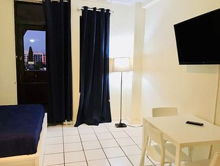 short term with beach access!!and 1 free dinner!