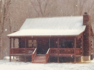 A Trout Fisherman's Delight, 3 miles from the Famous Upper Nantahala River!