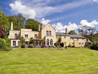 Marvelous Tranquil Home with 38 Acres in Devon