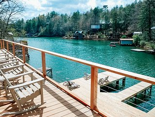 Steps from the Lake!  Beautiful new home on Quiet Cove
