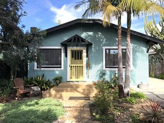 Charming Beach Bungalow in Midtown ++