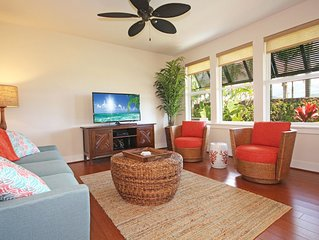 Ground Floor A/C Condo In Poipu, Pool, Close to Beaches PM15H