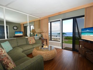 Free Midsize Rental Car, PS 101A, Oceanfront Condo With Pool Access You Get The