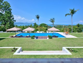 Exceptional Panoramic Sea View, Large Garden with 15 m swimming pool (Sleeps 8)