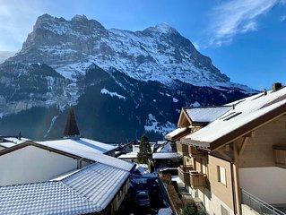 Ferienwohnung Grindelwald fur 4 - 5 Personen mit 2 Schlafzimmern - Ferienwohnung