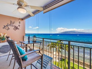 Incredible Ocean view, direct oceanfront 4th floor condo with A/C, walk to Beach
