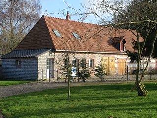 petite maison independante dans village  calme  à 2 kms de la plage