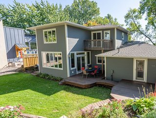 Minnestay- Sunnyside Garden ★Private Yard★Lakeview★Families