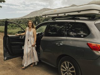 Roof Top Tenting in a 2016 Pathfinder AWD/auto